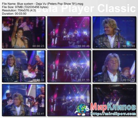Blue System - Deja Vu (Live, Peters Pop Show, 91)