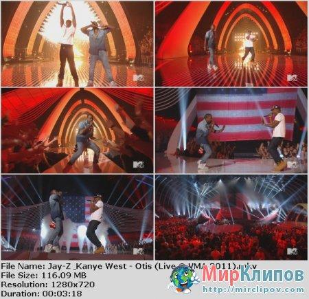 Jay-Z Feat. Kanye West - Otis (Live, VMA, 2011)