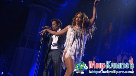 Marc Anthony Feat. Jennifer Lopez - Aquanile (Live, American Idol, 2011)