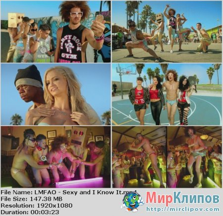 LMFAO - Sexy And I Know It