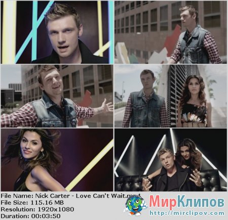 Nick Carter - Love Can't Wait