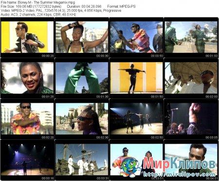 Boney M - The Summer Megamix