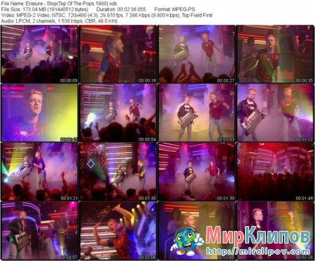 Erasure - Stop (Live, Top Of The Pops, 1988)