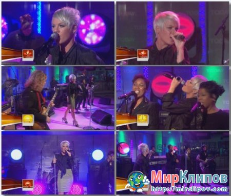 Pink - So What (Live, The Today Show, 2008)