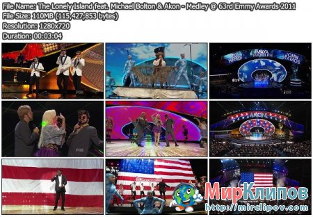 The Lonely Island, Akon, Jack Sparrow & Michael Bolton - Medley (Live, Emmy, 2011)