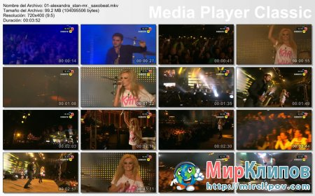 Alexandra Stan - Mr. Saxobeat (Live, The Voice, 2011)