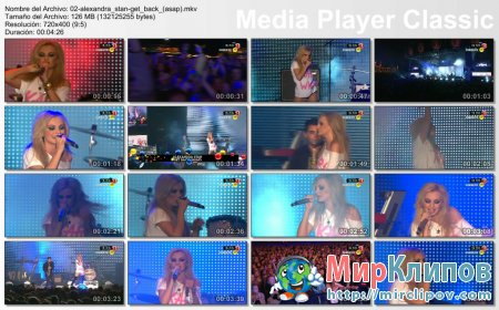 Alexandra Stan - Get Back (ASAP) (Live, The Voice, 2011)