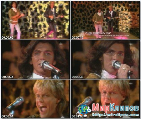 Modern Talking - Cheri Cheri Lady (Live, Goldene Europa Awards, 1985)