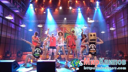LMFAO - Sexy And I Know It (Live, Tonight Show With Jay Leno, 15.09.2011)