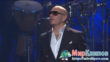 Pitbull - Rain Over Me (Live, Jimmy Kimmel Show, 21.09.2011)