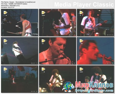 Queen - Soomebody To Love (Live)