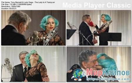 Tony Bennett Feat. Lady Gaga - The Lady Is A Tramp