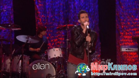 Maroon 5 - Moves Like Jagger (Live, The Ellen DeGeneres Show, 21.09.2011)