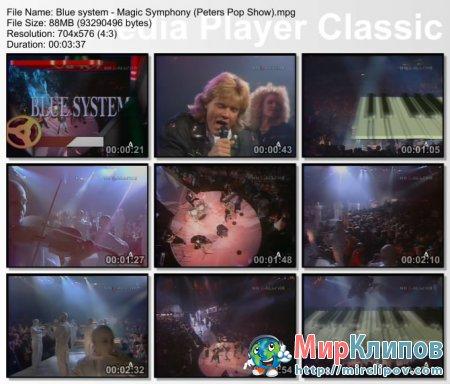 Blue System - Magic Symphony (Live, Peters Pop Show)