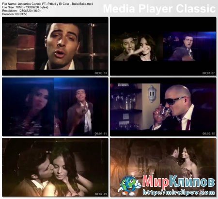 Jencarlos Canela Feat. Pitbull & El Cata - Baila Baila