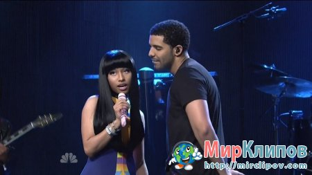Drake Feat. Nicki Minaj - Make Me Proud (Live, SNL, 15.10.2011)