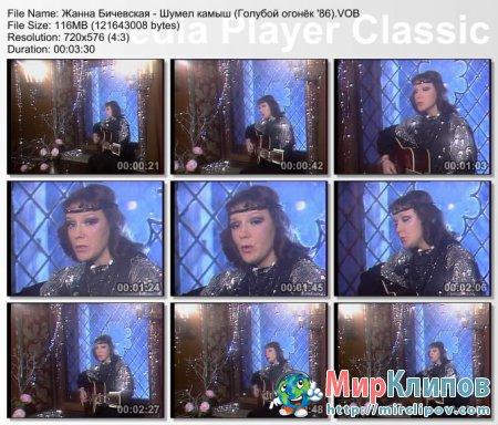 Жанна Бичевская - Шумел Камыш (Live, Голубой Огонёк, 1986)