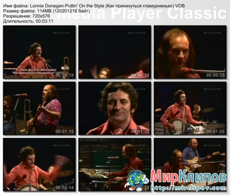 Lonnie Donegan - Puttin' On the Style (Live)