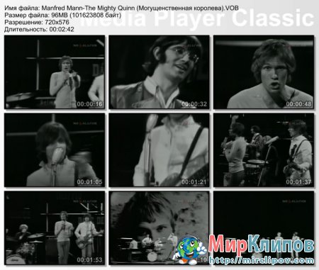 Manfred Mann - The Mighty Quinn  (Live)