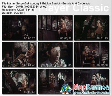 Serge Gainsbourg Feat. Brigitte Bardot - Bonnie And Clyde