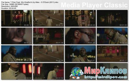 T-Pain Feat. Wiz Khalifa & Lily Allen - 5 O'Clock