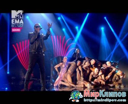 David Guetta Feat. Taio Cruz, Ludacris & Jessie J - Medley (Live, EMA, 2011)