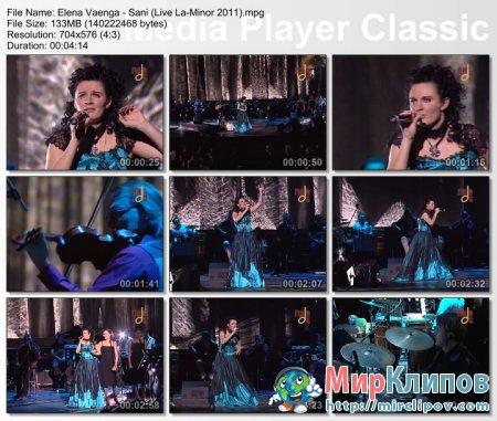 Елена Ваенга - Сани (Live, 2011)