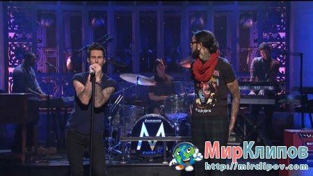Maroon 5 Feat. Travis McCoy - Stereo Hearts (Live, SNL, 05.11.2011)