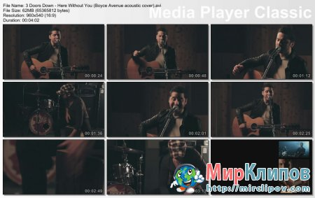 3 Doors Down - Here Without You (Live, Boyce Avenue Acoustic Cover)