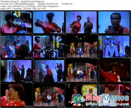 Boney M. - Young Free And Single