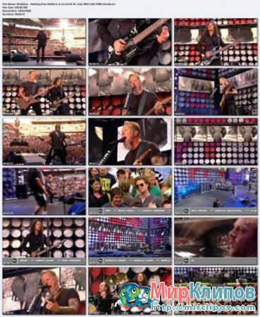 Metallica - Nothing Else Matters (Live Earth 07-July-2007) 1080i (HD)