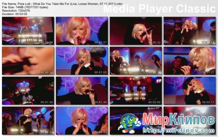 Pixie Lott - What Do You Take Me For (Live, Loose Women, 07.11.2011)