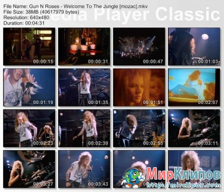 Guns N Roses - Welcome To Jungle