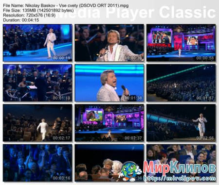 Николай Басков - Все Цветы (Live, День Сотрудника ОВД, 2011)