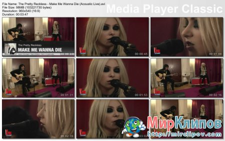 The Pretty Reckless - Make Me Wanna Die (Live, Acoustic)