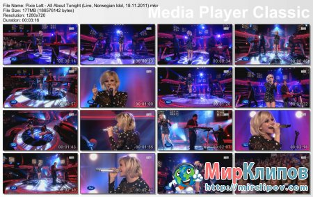 Pixie Lott - All About Tonight (Live, Norwegian Idol, 18.11.2011)