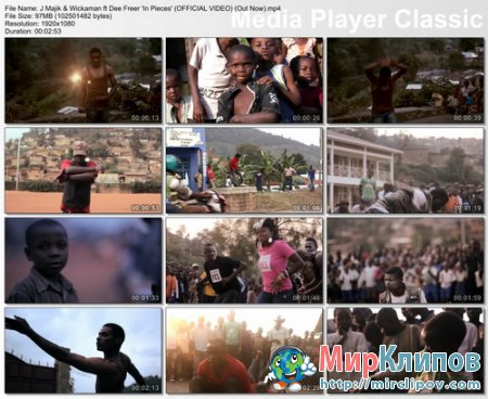 J Majik Feat. Wickaman & Dee Freer - In Pieces