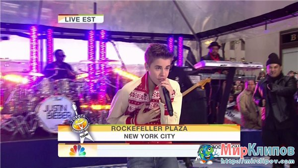 Justin Bieber  - Never Say Never (Live, The Today Show)