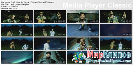 B.o.B. Feat. Lil Wayne - Strange Clouds