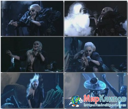 Lady Gaga - Marry The Night (Live, 54th Grammy Nominations, 2011)