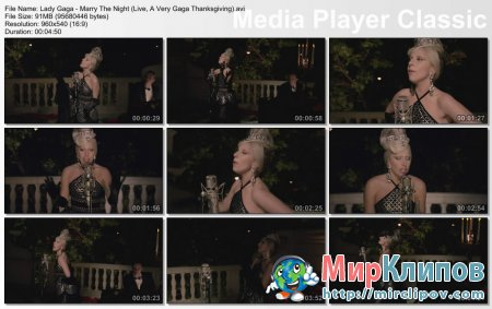 Lady Gaga - Marry The Night (Live, A Very Gaga Thanksgiving)