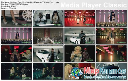 Birdman Feat. Nicki Minaj & Lil Wayne - Y U Mad