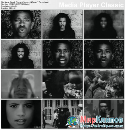 Neneh Cherry & Youssou N'Dour - 7 Seconds