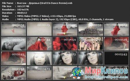 Винтаж - Деревья (Ural DJs Dance Remix)