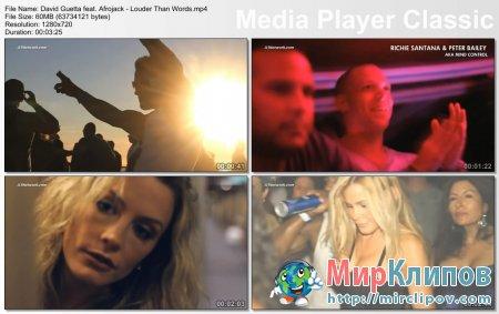 David Guetta Feat. Afrojack - Louder Than Words