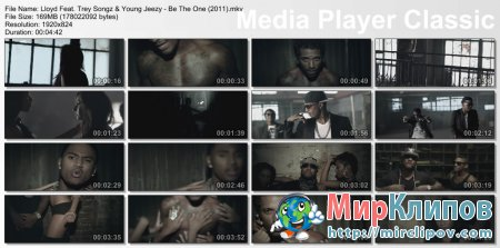 Lloyd Feat. Trey Songz & Young Jeezy - Be The One