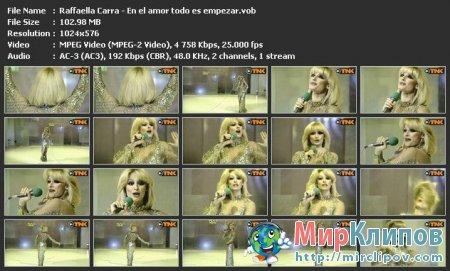 Raffaella Carra - En El Amor Todo Es Empezar