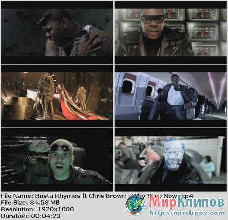 Busta Rhymes Feat. Chris Brown - Why Stop Now