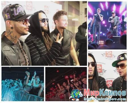 DJ M.E.G., Сергей Лазарев и Тимати - Moscow To California (Live, Big Love Show)