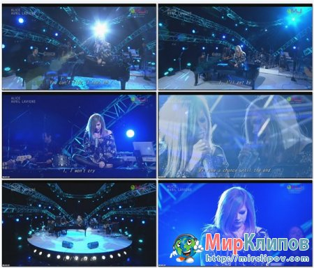 Avril Lavigne - Alice (Live, The Music Japan Overseas, 2011)
